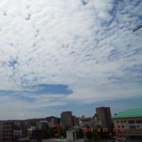 2019年04月22日(月) 雲の多い、晴れ。 <最低気温 16.9℃>
