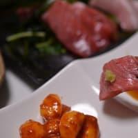 夕飯いろいろ、刺身にサラダ・・・