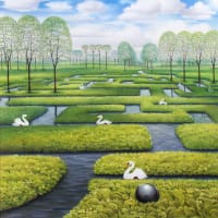 The spring labyrinth Jacek Yerka