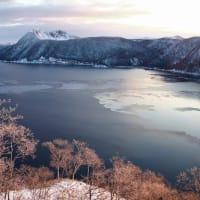 摩周湖の変化 Changes in Lake Mashu