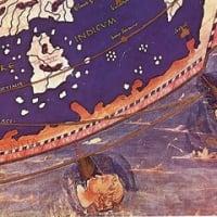 プトレマイオスの世界地図 「風神」