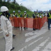 7月17日、オール沖縄会議現場部会の県交渉の記録 --- 本部港でのネットによる規制の中止を指示する行政指導文書が出された!