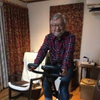室内用自転車を買った