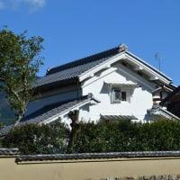 蔵のある風景左0384回 岩倉 山住神社 付近