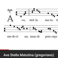 Ave Stella Matutina(愛でたし、暁の星よ)というグレゴリオ聖歌 その2