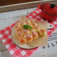 樹脂粘土で作ったちぎりパンと、最近買った可愛いものたち。