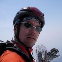 Ski alpinist三浦大@利尻