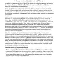 馬渕大使が一読を勧められています: 退役軍人124人の公開書簡