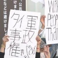 民主化運動、ドイツ大使館への抗議は行き過ぎ?