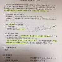 大田区の計画は、誰が作るのか 基本計画策定支援業務委託に考える