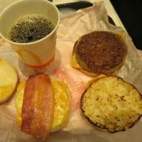 マクドナルドの朝食アレンジ