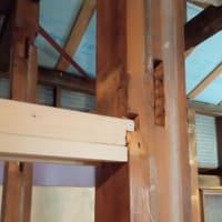 秘密基地建設その297:納戸の梁作り