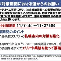 北海道 新型コロナウィルス感染(CDVID-19)情報!