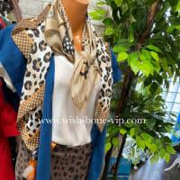 レオパード/ヒョウ柄LOVEをおしゃれにコーデ。スカーフ入荷〜秋のインポート海外ファッション