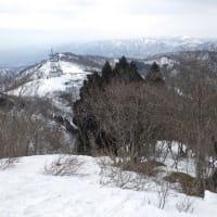 2021年2月28日(日) [高島トレイル]国境から乗鞍岳へ、絶景スノーシューハイク!