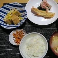 吉次の塩焼きと油揚げ三昧、炊屋食堂の田舎素朴menu・・・年寄りにやさしい、