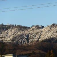 雪化粧の山々 2020.1.19