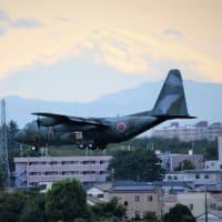 今日の富士山と自衛隊機