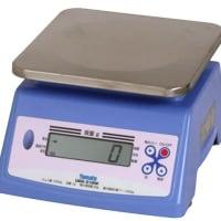 防水型デジタル上皿はかり 2400g UDS-210W-2400G 検定品 大和製衡
