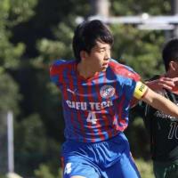 岐阜県高校サッカーベストイレブンに選ばれる!