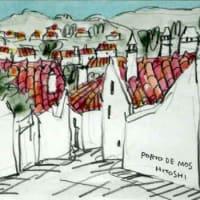 1922. ポルト・デ・モスの町角