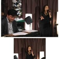 11月11日(金)の夜は、こおろぎゆきこ(vo)さんのライブでした!