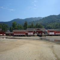 厳島神社の台風18号被害