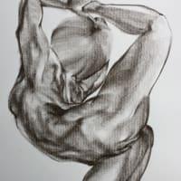 Nude-Muse-angel-Tableau-ヌード-芸術-アート-絵画:フレックスバディ