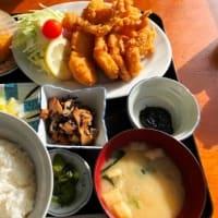 帆立フライ定食 (正立食堂)
