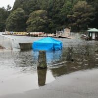 台風後の箱根の楽しみ方(自動車編)