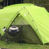 新しいテント