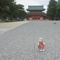 緊急事態宣言の延長下の京都「だれもいないよ~」平安神宮と岡崎公園…ちょっと寂しい・・・