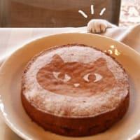 またヴィクトリアケーキにゃの。