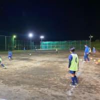 サポートチームFC小田原の練習