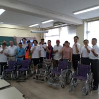 giveから ネパールパラリンピックテコンドーチーム