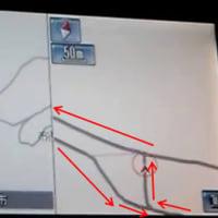 車検時地図更新してからのいい加減案内動画です。