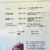 初かき氷 引網香月堂 古沢本店
