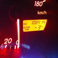 さ、寒いーっ!