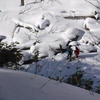 スノーシュー in オコタンペ湖周辺