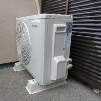 千葉県:船橋市金杉にて、エアコン新設工事