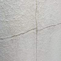 塀の塗り替え(弾性塗料で下地調整)