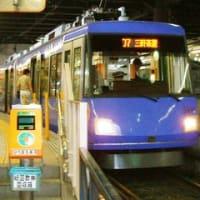 世田谷線下高井戸駅。