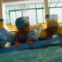 10月2歳児スイミング