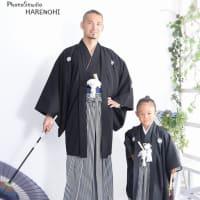 9/14 七五三・袴撮影・お父さんと一緒に♫ 札幌写真館ハレノヒ