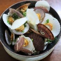 鱈のくずころも揚げと蕗惣菜