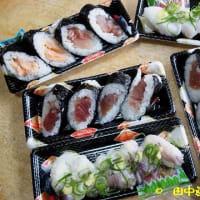 これが一番のトライアル大和小泉店の4種にぎり寿司
