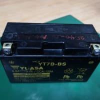 Cygnus-X バッテリー交換 ODO 28299km