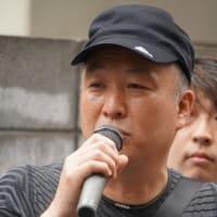 カメラ今井明さん 8.23東部労組大久保製壜支部ストライキ(5)