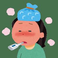 発熱患者さんが減っている。