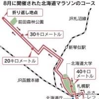 IOC側は札幌ドームをスタート・ゴールとする案を出している → 東京オリンピックのマラソンと競歩は札幌開催が事実上決定